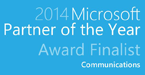 2014 Microsoft Communications Partner of the Year – Finalist