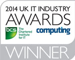 2014 UK IT Industry Award - IT Project Demonstrating most effective use of Collaborative Technology