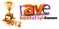 Best New Audio Conferencing Product, Best New Videoconferencing Product, and Best Overall New Product awards at InfoComm 2012 from rAVe