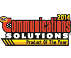 TMC 2014 Communications Solutions Product of the Year Award