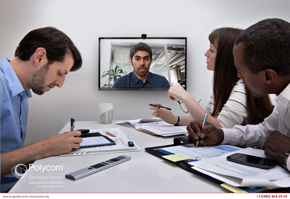 Polycom RealPresence Group Convene back