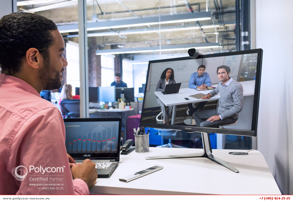 Polycom RealPresence Group Convene camera
